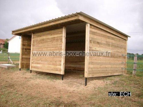 Le sp cialiste des box et abris pour chevaux - Refugios de madera prefabricados ...
