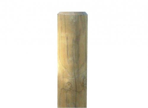Poteau en bois  poteau bois sur EnPerdreSonLapin ~ Poteau Cloture Bois Rond