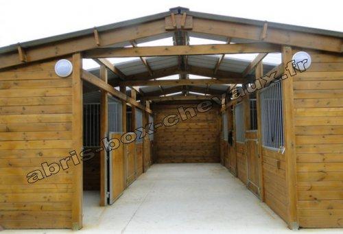 Barns le sp cialiste des box et abris pour chevaux - Porte de box pour chevaux a vendre ...